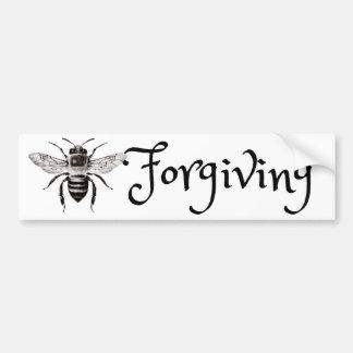 Bee Forgiving Bumper Sticker