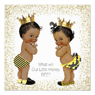 African american baby shower reveal gifts t shirts art posters other gift ideas zazzle - African american party ideas ...