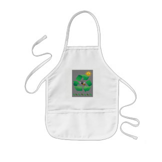 Bee Green - Cute Environmental Kids Apron