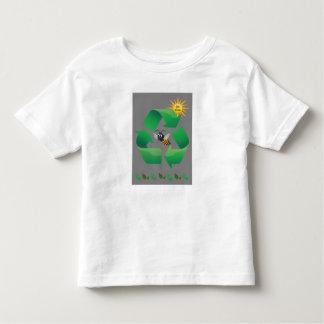 Bee Green - Cute Environmental Toddler T-Shirt