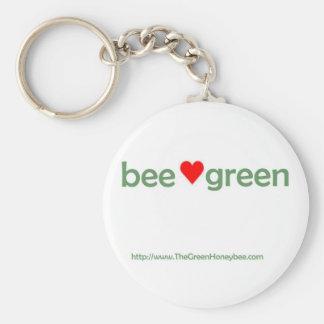 Bee Green keychain