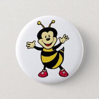 Bee Guy 6 Cm Round Badge