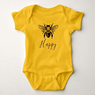 Bee Happy Baby Bodysuit