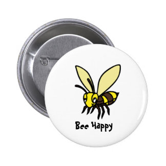 Bee Happy Buttons