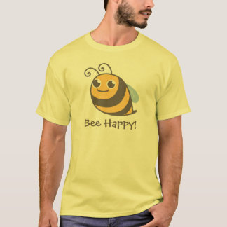 Bee Happy! Bumble Bee T-Shirt