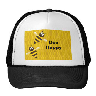Bee Happy Bumblebee Hat