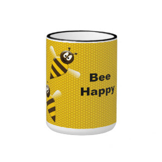 Bee Happy Bumblebee Mug