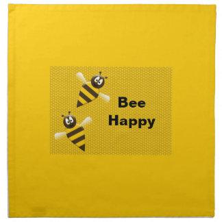 Bee Happy Bumblebee Napkins