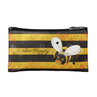 Bee Happy Cosmetic Bag