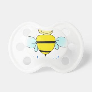Bee-happy. Pacifiers