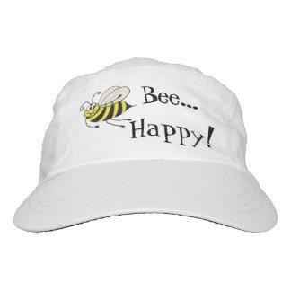Bee Happy Funny Bee - Cap