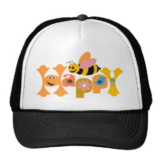 Bee Happy Hats
