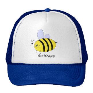 Bee Happy Trucker Hats