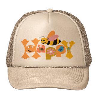 Bee Happy Mesh Hat