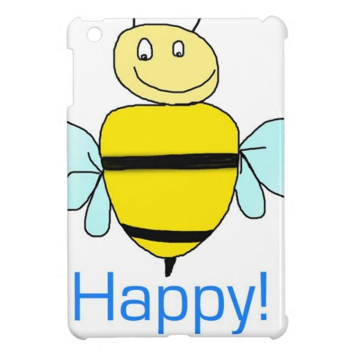 Bee-happy. iPad Mini Cases