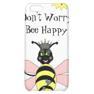 Bee Happy Iphone Case iPhone 5C Case