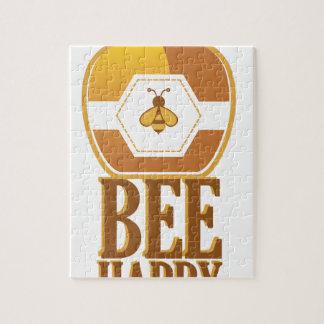 Bee Happy Jigsaw Puzzle