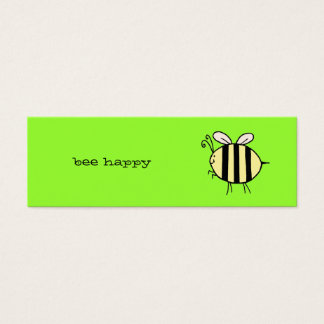 Bee Happy Mini Business Card