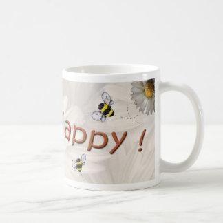 """""""Bee Happy"""" Mug"""