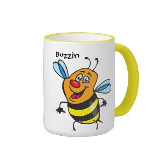 Bee Happy Coffee Mugs