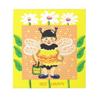 BEE Happy Memo Pad