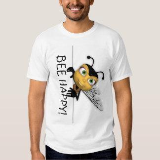 Bee Happy T Shirt - Honey Bee T Shirt
