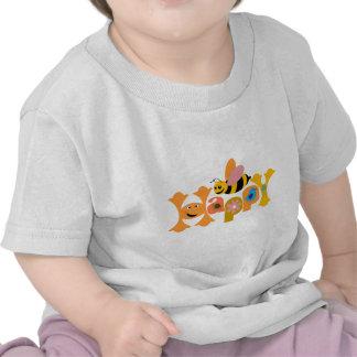 Bee Happy Tshirts