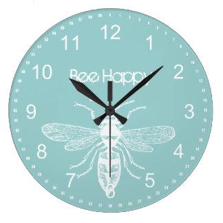 Bee Happy Wall Clocks