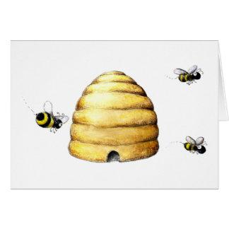 Bee Hive Card