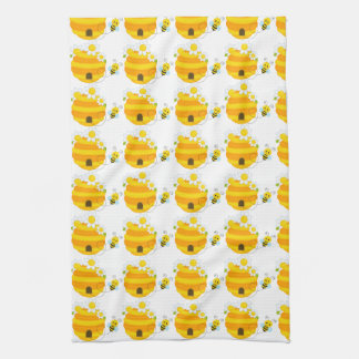 Bee Hive Hand Towels