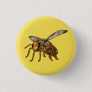 Bee Hiv'in Bee 3 Cm Round Badge