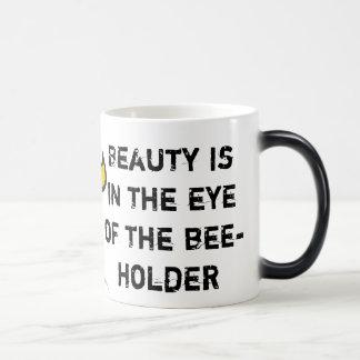 Bee-Holder Heat-Revealing Mug