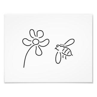 bee honey flower bloom