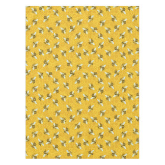 Bee Honeycomb Honeybee Beehive Pattern Party Tablecloth