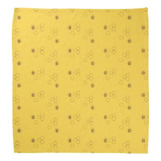 Bee Honeycomb Pattern Bandana