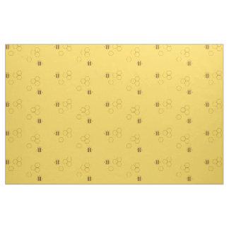 Bee Honeycomb Pattern Fabric