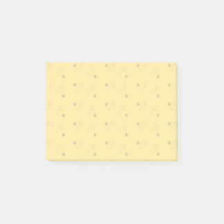 Bee Honeycomb Pattern Post-it Notes