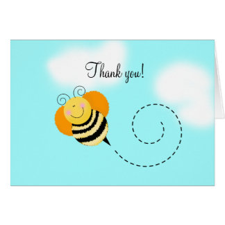 Bee Hop Bumble Bee Folded Thank you notes