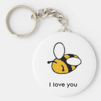 bee i love you key ring