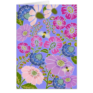Bee in the Garden Greeting Card