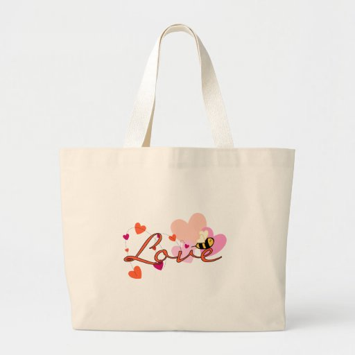 Bee-ing in Love Valentine Bags