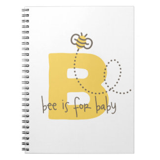 Bee is for Baby Photo Album Spiral Note Book