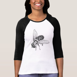 Bee Jersey Honeybee Art Shirt Insect Bug Shirt