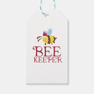 Bee Keeper Christmas Edition Gift Tags