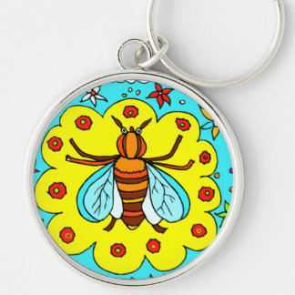 BEE KEEPER DESIGN KEY RING