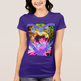 BEE LOVE PURPLE BELLA SHIRT