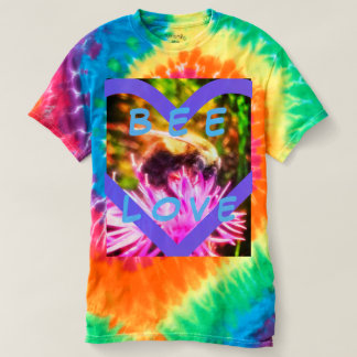 BEE LOVE RAINBOW TIE-DYE SHIRT