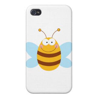 Bee Mascot Cartoon Character iPhone 4/4S Case