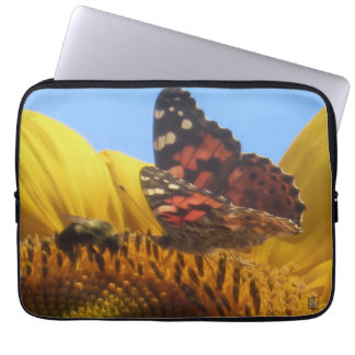 Bee meets Butterfly case Computer Sleeve