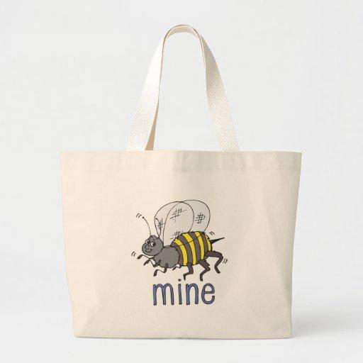 Bee Mine Canvas Bag